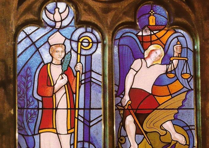 Adélio Sarro - Vitral do Mosteiro de Klingenmunster 02