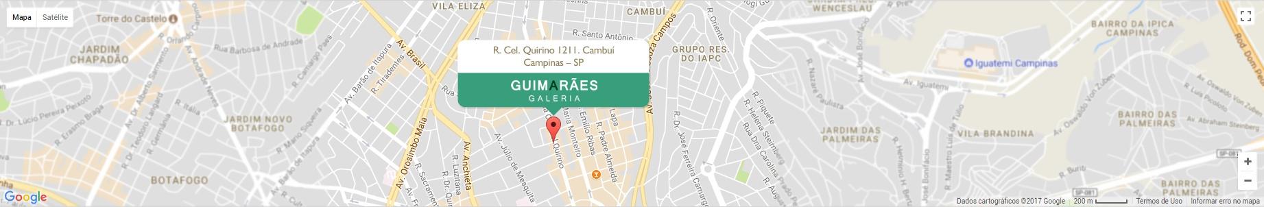 mapa guimaraes galeria cambui campinas