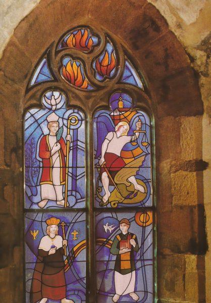Adélio Sarro - Vitral do Mosteiro de Klingenmunster 01
