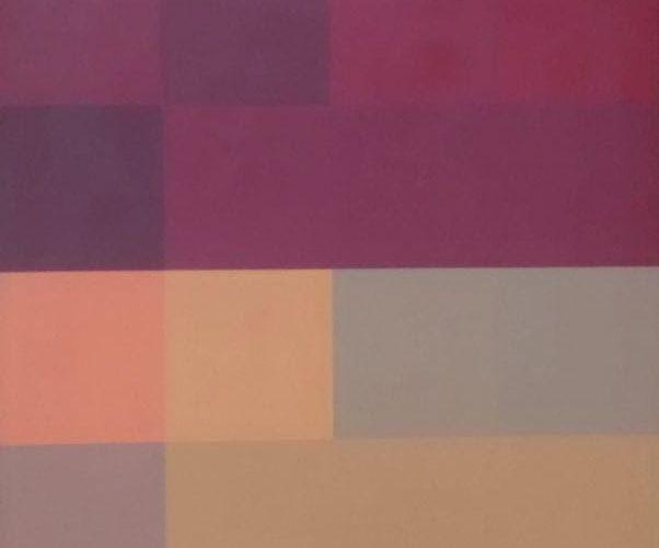 Judith Lauand - oleo sobre tela